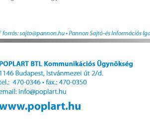 POPLART BTL Kommunikációs Ügynökség | 1146 Budapest, Istvánmezei út 2/d.